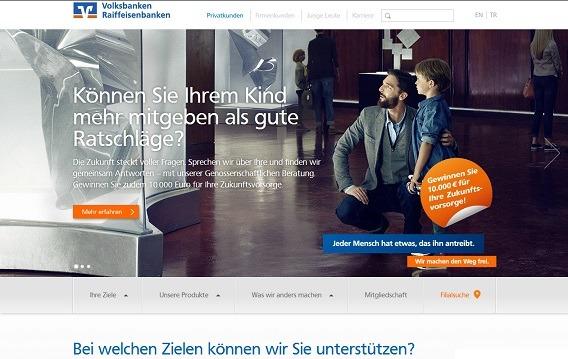 Offizielle Webseite der VR-Banken