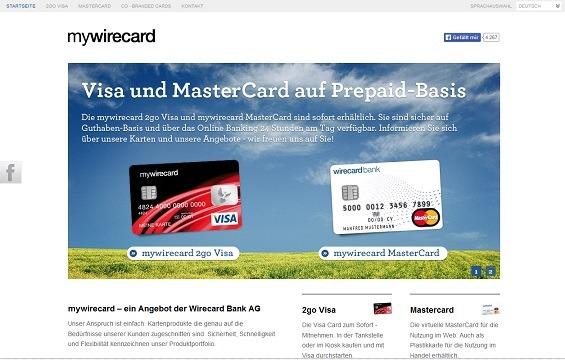 kreditkarte anonym