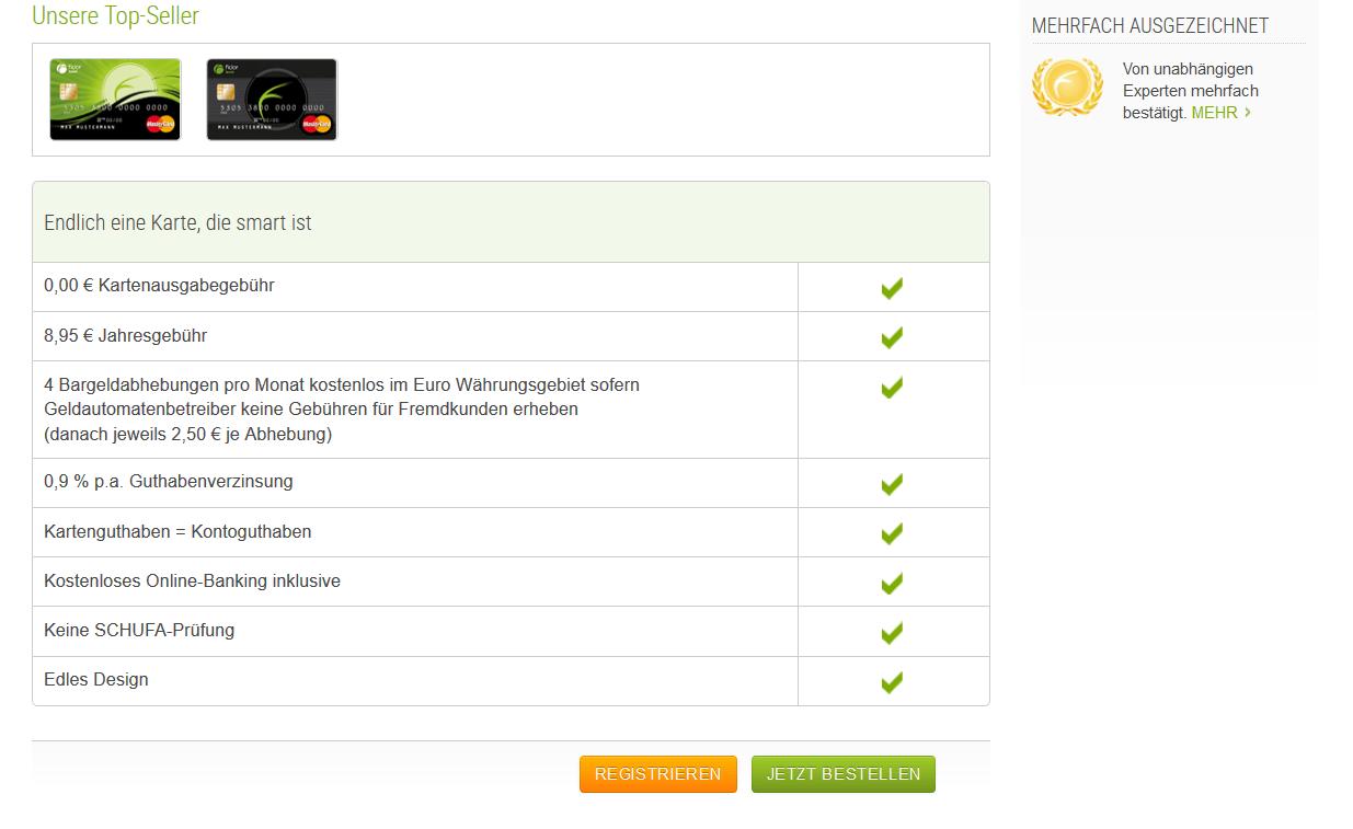 prepaid mastercard test