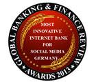 Fidor Bank - Most Innovative Internet Bank For Social Media Germany 2013
