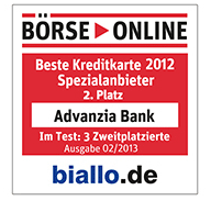 advanzia bank mastercard gold b+Ârse online beste kreditkarte