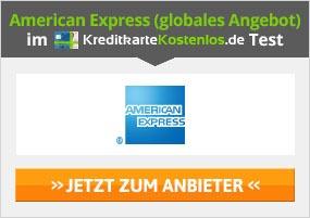 American Express Kreditkarte beantragen