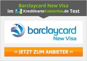 Barclaycard New Visa Kreditkarte Erfahrungen