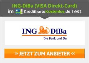 ING-DiBa VISA Direkt-Card Erfahrungen