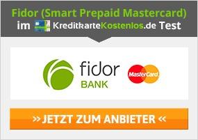 Fidor Kreditkarte Erfahrungen