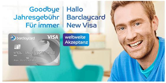 Dauerhaft keine Jahresgebühren bei der New Visa