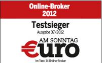 comdirect visa karte-euro am sonntag online-broker 2012