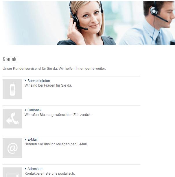 Mercedes Bank Kontaktmöglichkeiten