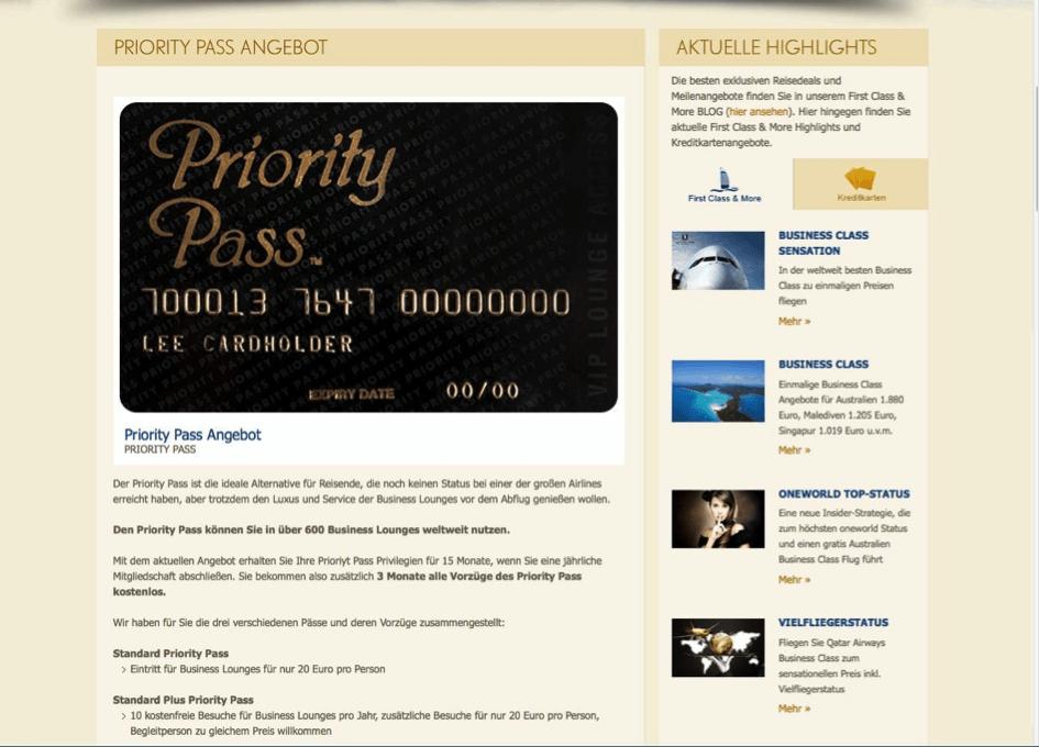 Trotz gutem Angebot hat der Priority Pass auch Nachteile