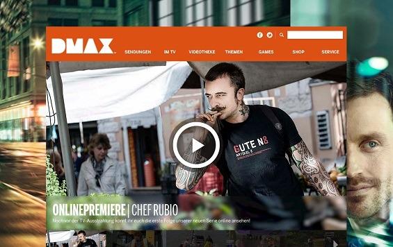 Offizielle Webseite des privaten Fernsehsenders DMAX