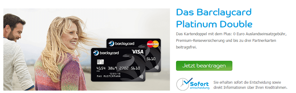 Gutes Angebot: Das Barclay Platinum Doppel