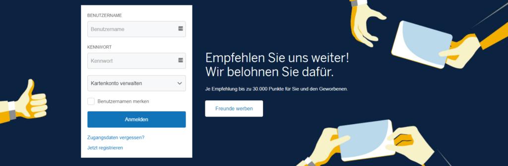 amex kreditkarte beantragen