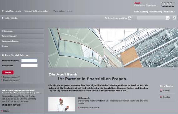 Audi Visa Card