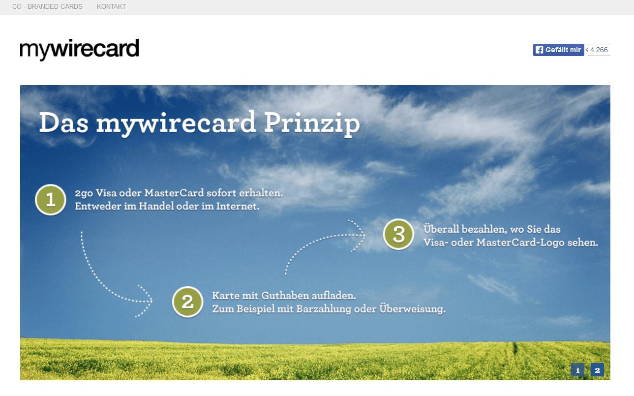 Das Konzept hinter Einweg Kreditkarten in drei Schritten