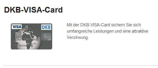 DKB Visa Card Angebot