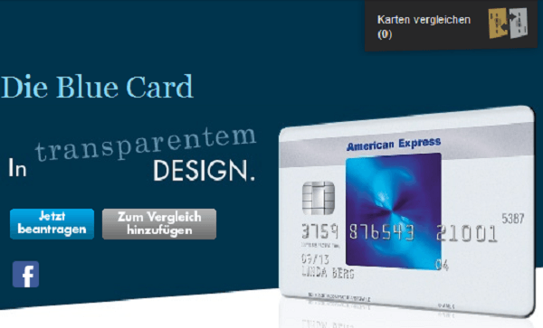 Die American Express Blue Card