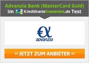 Advanzia Bank Kreditkarte Erfahrungen