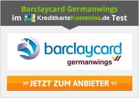Barclaycard Germanwings Kreditkarte Erfahrungen