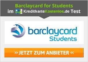 Barclaycard for Students Kreditkarte Erfahrungen