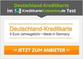 Deutschland-Kreditkarte Erfahrungen