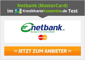 Netbank MasterCard Kreditkarte Erfahrungen