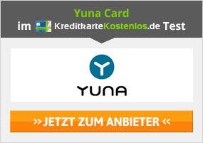 Yuna Card Kreditkarte Erfahrungen
