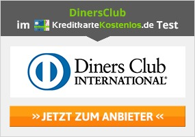 Diners Club Kreditkarte beantragen