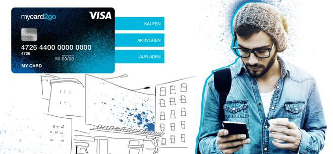 Anonyme Prepaid Kreditkarte von mywirecard