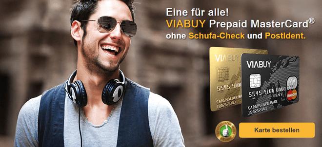 Viabuy Kreditkarte ohne Schufa