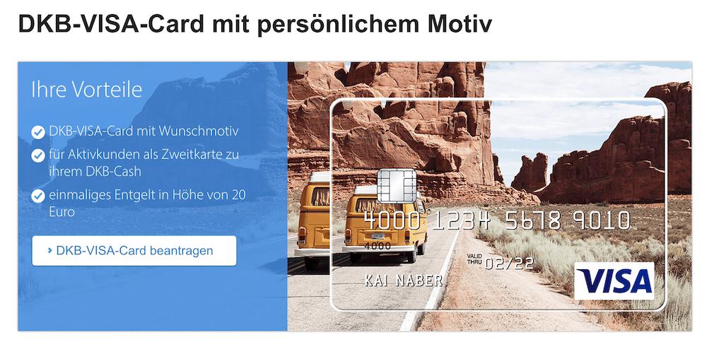 DKB-VISA-Card Motiv