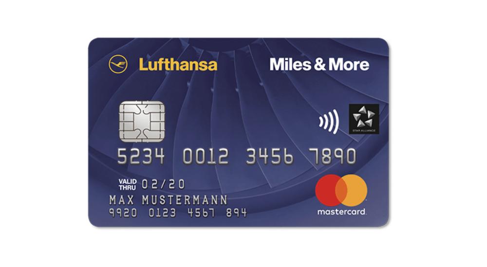 Lufthansa Blue Kreditkarte