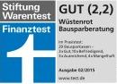 w++stenrot direct visa classic-Stiftung Warentest Bausparberatung (GUT 2,2)