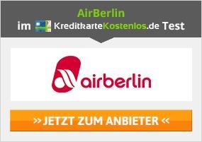 Bonusmeilen mit AirBerlin Kreditkarte sammeln