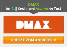 DMAX Kreditkarte erhalten