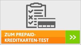 Prepaid-Kreditkarten-Test