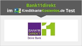Bank11direkt Karte ohne Gebühren