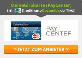 MeineGirokarte Erfahrungen von Kreditkartekostenlos.de