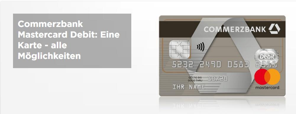 commerzbank mastercard debit