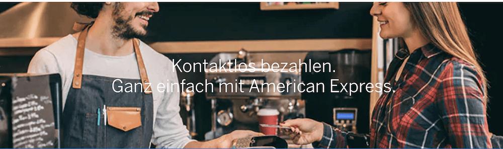 American Express kontaktlos bezahlen