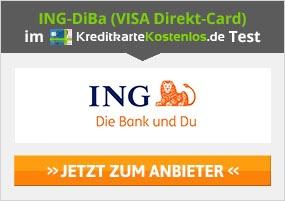 ING-DiBa VISA Direkt-Card Erfahrungen von Kreditkartekostenlos.de