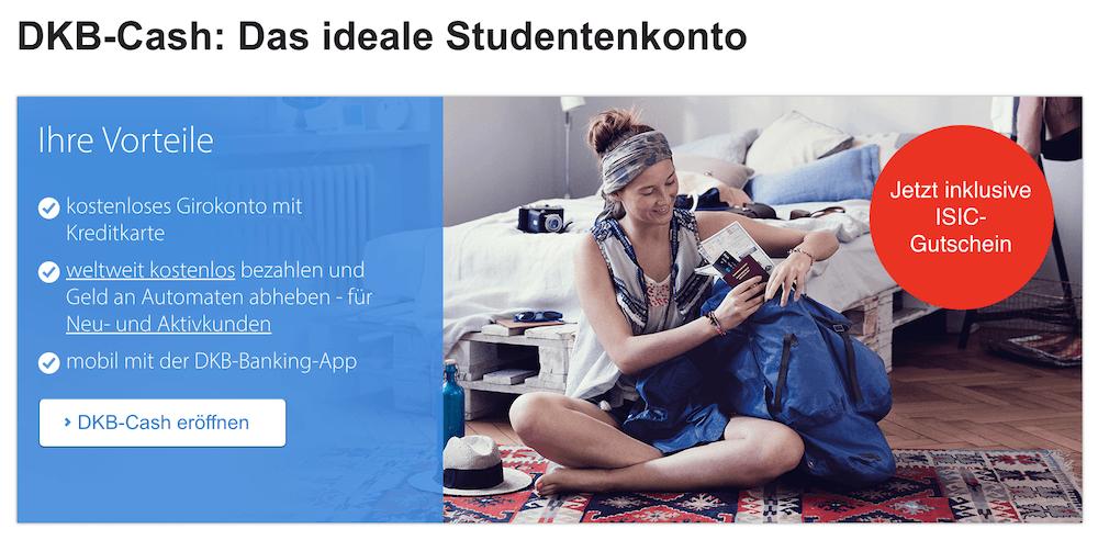 DKB Cash Studenten