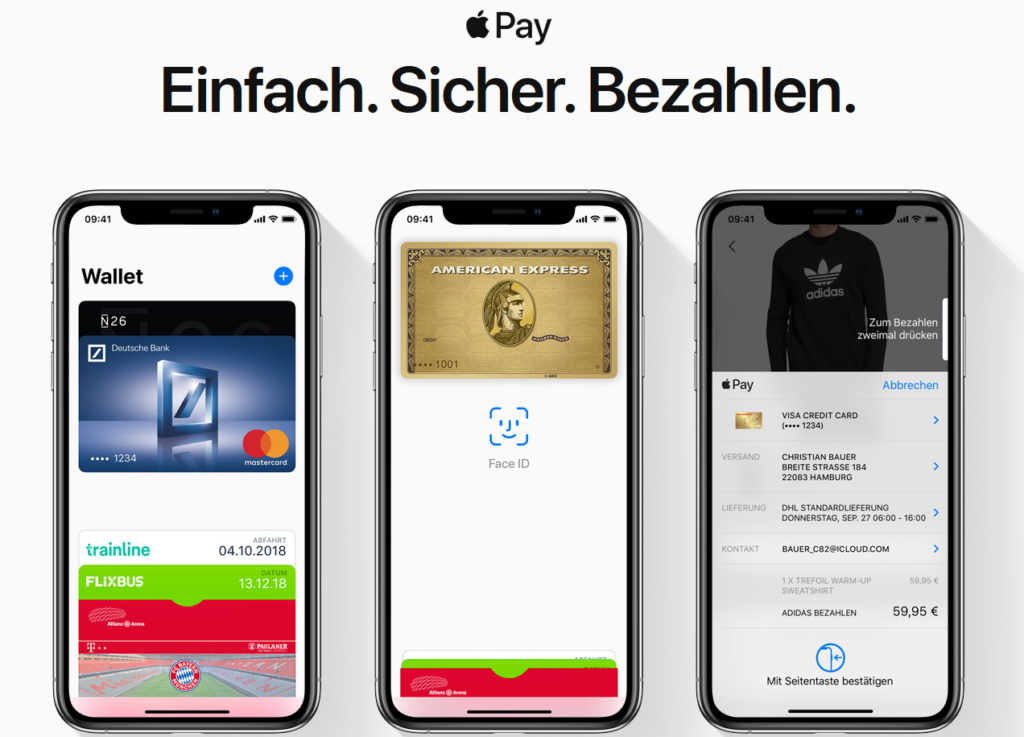 Apple Pay Deutschland MasterCard